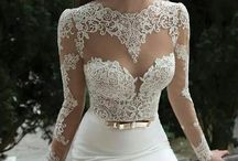 Bride dresses / Lovely bride dresses - I'm living a 'happily ever after' story with my lovely husband, but there surely are much more girls looking for Prince Charming and for 'The Dress'!