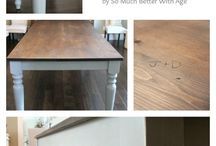 table/desk makeover