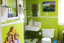 Master Bathroom / by Katie Riedinger