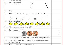 Mental Math Quizzes / Test your mental math skills with our carefully graded sheets. Great for revision, keeping skills sharp or just regular practise of basic facts and problem solving. / by Math Salamanders