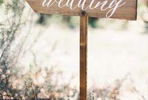 wedding caligraphy