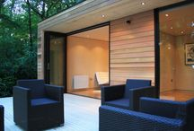 Garden rooms and tree houses