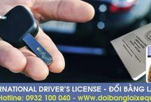 Đổi bằng lái xe quốc tế ô tô quốc tế