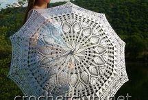 Crochet - ombrelles