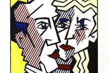 pop art on canvas famous people