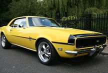 Camero's / Brings me back to my childhood.  I miss that '68 RSS butternut yellow Camero.  / by John McIntyre