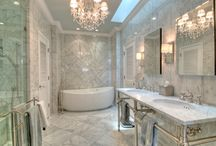The Picture of Elegance / Bathroom design doesn't get more luxe than this.