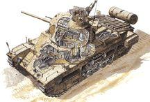 Tank cutaway