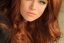 Copper ginger hair