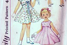 Children's Vintage Patterns / by Ruth Zahler