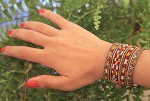 ZAMIN : Handmade embroidered jewelry