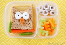Lunchbox Fun / We know it can be difficult to get kids to eat, especially healthy foods. Here are some creative ideas to make lunchtime fun and nutritional!