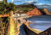 Sidmouth, Devon, UK