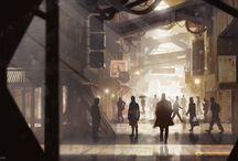 Sci Fi cities / Villes du futur