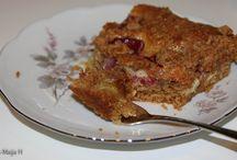 Baking and Cooking / Leipomuksia ja kokkauksia