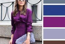 Палитра цвета в одежде