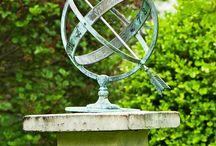 Antique astronomical device