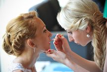 Rome Wedding Hair and Make-Up / Enjoy your wedding morning and get amazing hair and makeup by our professional hair stylist Louise Faulkner. We can make up the bride and bridal group according to her style and personality. For more information, visit us today.