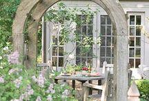 Garden Elements ANTIQUECHASE / by Marcy @ ANTIQUECHASE