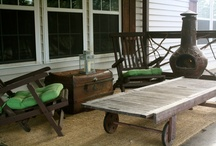 Outside Spaces: porches, patios, landscapes