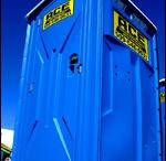 Portable toilets / Dixi's / I spy something ...