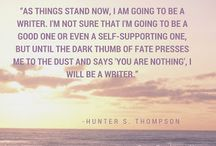 A Writer's Fate / A blog board for posts on my blog site on Blogger. Motivational/inspirational posts for writers, in the words of Tupac, to help 'keep your head up.'