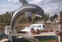 Yunus Ve Balık Heykelleri