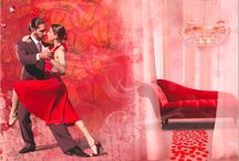 KOLORY NASTROJÓW - FASCYNACJA / Pełna kolorów czerwień, niczym ogniste tango, wprowadzi do wnętrz zniewalającą ekspresję. Jeśli dobrze czujesz się w otoczeniu intensywnych barw, urzeknie Cię kompozycja namiętnych uczuć i intrygujących doznań.