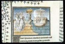 Thebais and Achilles / BL MS Burney 257, Thebais and Achilles, by Publius Papinius Statius, circa 1405