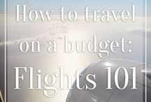 Budget Travel: Tips for Saving Money / We're budget travelers. We prefer to save where we can so that we can splurge where it counts on food, drinks, unique experiences, and adventures! There's no wrong way to budget for travel. Travel frugally and live within your means with these budget travel tips for saving money for travelling!