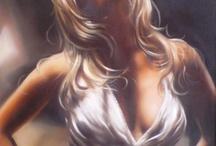 Oil paintings Jeanne Marais