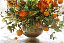 arrangement col oranges