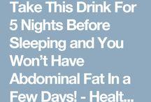 Juice for flat tummy