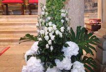 Kościół kwiaty