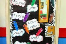 Classroom >> DOOR décor * / by A Cupcake for the Teacher