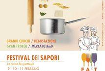Festival dei Sapori: la cucina dà spettacolo 9-10-11 febbraio Brescia