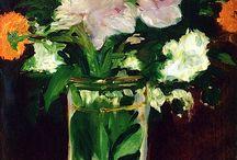 Virágok     Manet