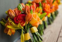 COLOUR: Orange / Need some colour inspiration for your wedding party?