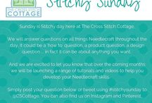 Stitchy Sunday / Sharing tutorials and learning about all things #needlecraft