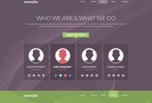 webdesign / Design de sites Web pour inspiration
