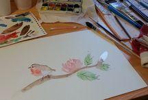 Dessins & Peintures / Idées d'ailleurs et réalisations de moi-même.