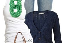 Clothes I Covet / I am fashion challenged. I love these because I can totally steal ideas!