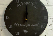 Personalised Clocks / We love a clock which is personalised for your family or home. What would you like?