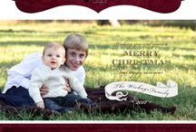 Custom Holiday Cards / Whether you are looking to showcase this year's family images or outshine your best friend's card from last year, these custom Holiday card designs by Karen McConaughey Photography can do the trick!  Don't have enough room on the front? Add a custom backer or interior to include even more photos and a more detailed message.