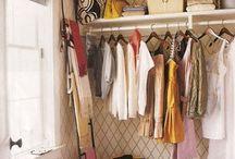 closet, display & storage ideas / by Gwen Miclea