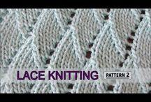 대바늘 패턴, 작품 / 대바늘을 이용한 작품들