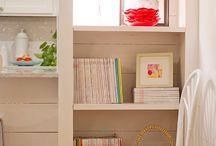| Bookshelf Styling | / by | Modest Maintenance |