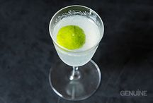 Stiff Drinks / Cocktail Recipes