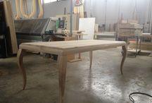 Tavolo in legno fatto a mano, wood's table