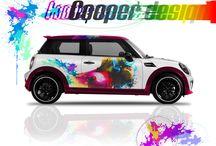 New Pop Cars / Digital print posters 100x70 cm